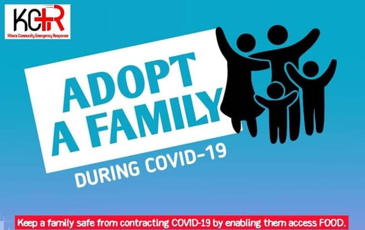 'Adopt a Family' Initiative brings hope to Kenya's biggest slum amidst COVID -19